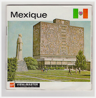 View Master   Mexique     B 011    In Francese     A Libretto   Nations Du Monde