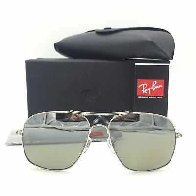 4585ab88f77 RAY-BAN SUNGLASSES RB3587CH Polarized Chromance Silver Mirror Lens ...