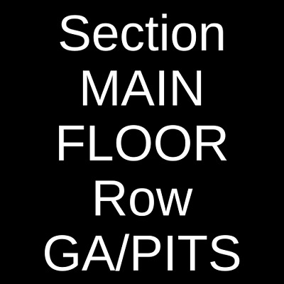 2 Tickets Black Label Society 5/1/19 Concord Music Hall Chicago, IL