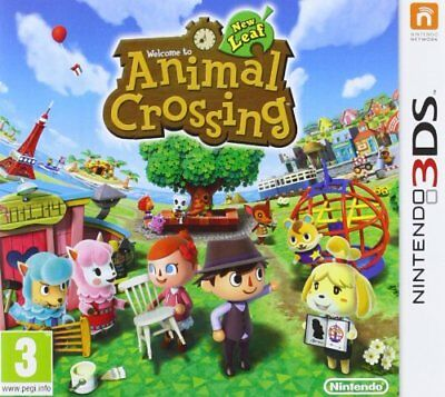 Animal Crossing New Leaf Jeu 3Ds Neuf
