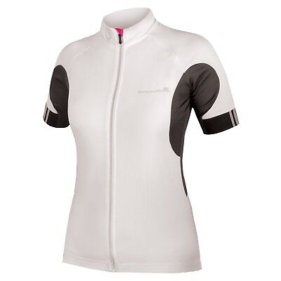 50459b768 ENDURA WOMEN S FS260 Pro II Cycling Jersey Size Small White Short ...
