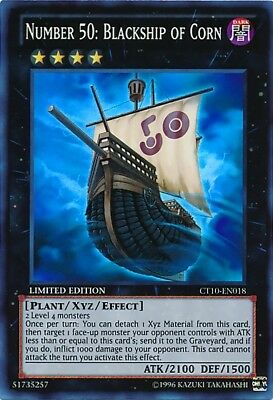 x1 Number 50: Blackship of Corn - CT10-EN018 - Super Rare - Limited Edition Yu-G