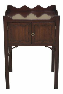 30526EC: KITTINGER CW-57 Colonial Williamsburg Commode Nightstand Table
