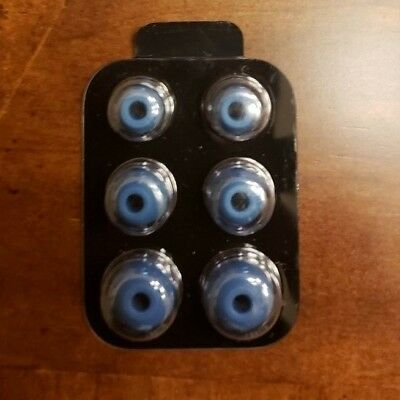 Original OEM BEATS X Eartips & Wingtips  - Black Blue Gray White