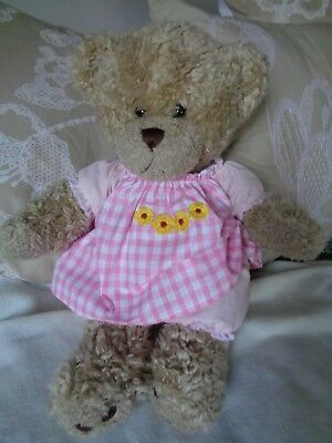 Clothes fit girls Build a bear ,teddy dress and pants 30cm sitting,40 cm length