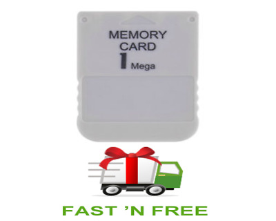 Memory Card For Playstation 1 One PS1 PSX Game useful Free Shipping