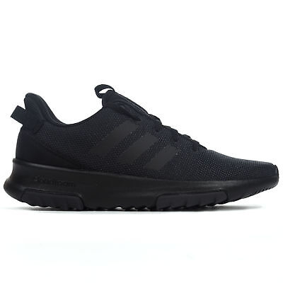 on sale f13cf b43a4 adidas Cloudfoam Racer TR Mens Adult Fashion Trainer Shoe Black - UK 9
