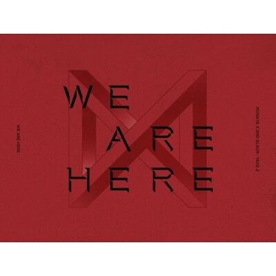 Monsta X 2Nd Album - Take.2 [ We Are Here ] 4 Version Set