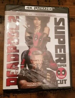 Marvel Deadpool 2 4K Ultra HD Blu Ray Digital Brand New Sealed No Slipcover