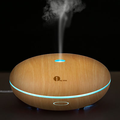 350ML Ultrasonic Humidifier Air Mist Essential Oil Aroma Diffuser Aromatherapy