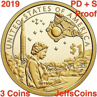 2019 PDS SACAGAWEA NATIVE AMERICAN Indians In The Space Program P D PROOF Dollar