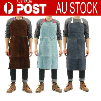 Welding Apron Heat Insulation Cow Leather cowhide Welder Heavy Duty Protections