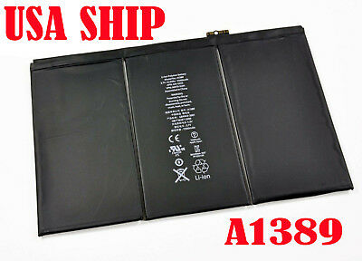 Battery_S for iPad 3 3rd 4 4th Generation 11560mAh A1389 A1460 A1458