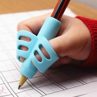 Learning Writing Two-Finger Grip Silicone Tool Correction Device Children