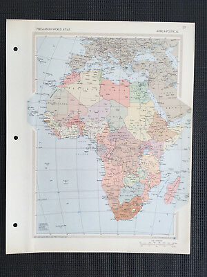 Map Of Africa Political 1967