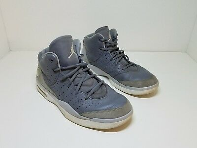 save off 3e012 4d094 819472-003 Men s Nike Air Jordan Flight Tradition Cool Grey Grey-Wht SIZE