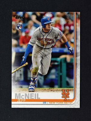 2019 Topps Series 1 Base #281 Jeff McNeil - New York Mets RC