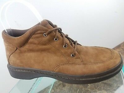 f61d629f64b John Fluevog Easy Spirit Angels Brown Suede Leather Lace Up Ankle Boots  Womens 8
