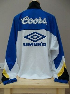 more photos 4a9f0 cacdc CHELSEA F C Tracksuit Top - Umbro - Blue - Youth - (Used ...