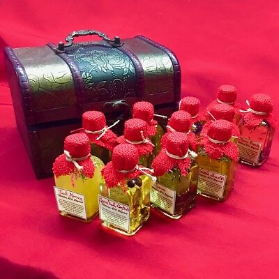 ☽O☾ FANTASTIC BOX WITCH X 12 ASSORTED WITCHES OIL SPECIAL 50 ml ☽O☾