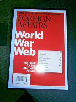 Foreign Affairs Magazine Sept/Oct Issue 2018 (new)
