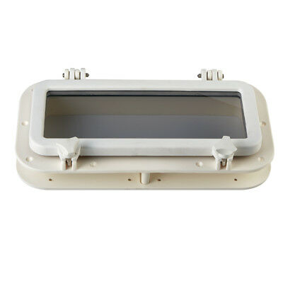Portlight Access Hatch Window Marine/Boat 40x20cm RECTANGULAR OPENING PORTHOLE