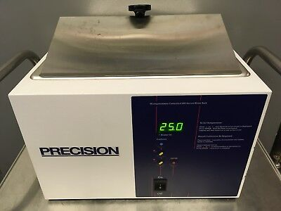 Precision 51221050 Water Bath Microprocessor Controlled 280 Series Used Tested