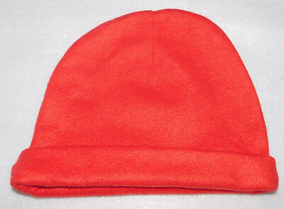 d395d9f9f51 Microfleece Red Winter Stretch Beanie Hat Cap Mens Womens Unisex One Size