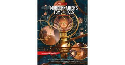 Dungeons Dragons Mordenkainen's Tome of Foes - 5th Edition