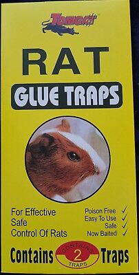 Rat Mice Mouse Rodent Catcher Large Glue Trap Glue Pads    **Discount upto 35%**