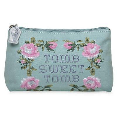Disney Parks Haunted Mansion Tomb Sweet Tomb Zipper Pouch Bag Clutch Purse NEW