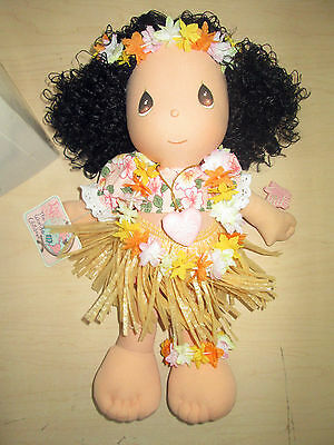 Vintage 1987 Precious Moments Hawaiian Girl Doll By Applause W/box.