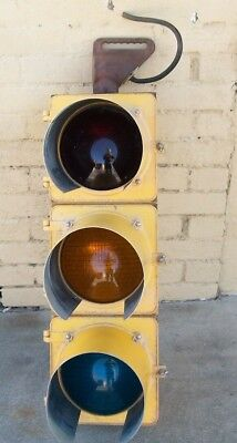 Vintage Traffic Light Signal from Lincolnton NC Working when Taken down