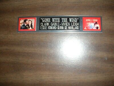 """""""gone With The Wind"""" (Movie) Engraved Nameplate For Photo/display/poster"""
