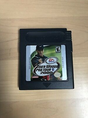 Nintendo Gameboy Tiger Woods Pga Tour 2000