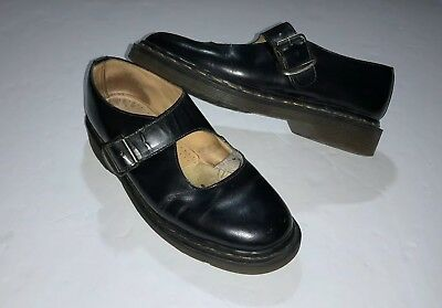 Vintage Dr. Martens Made In England Leather Women's Shoe's Size 5
