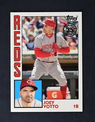 2019 Topps Series 1 1984 Topps Baseball #T84-15 Joey Votto