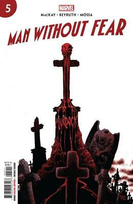 MAN WITHOUT FEAR #5 Main Cover (Marvel Comics, 2019) NM 1st Print