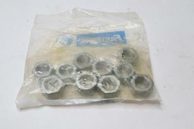"""Pack of 10 - 5/8""""-11 Hot Dip Galvanized Finish Grade A Finished Hex Nut"""