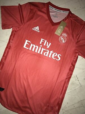 e71030f0b1c Adidas 2018 Real Madrid Third Authentic Soccer Jersey Men s Medium ~  130  DP5441