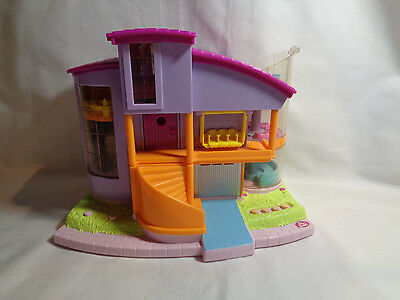 Vintage 2000 Polly Pocket Magic Movin' Ultimate Clubhouse Lights Sounds