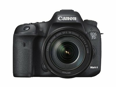 Canon EOS 7D Mark II DSLR Camera With EF-S 18-135mm IS USM Lens Wifi Adapter Kit