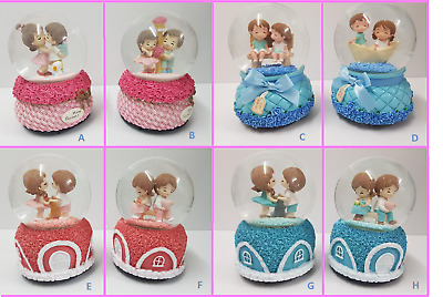 Carousel Musical Snowglobe - 14 Different Designs