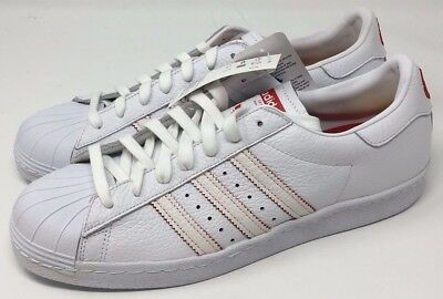 7b275d3fba7d Adidas Original SUPERSTAR 80s CNY Chinese New Year White Red DB2569 Size 12