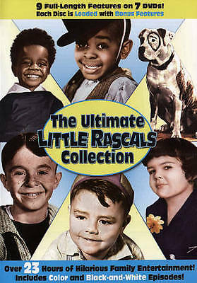 The Ultimate Little Rascals Collection (DVD, 2015, 7-Disc Set) NEW