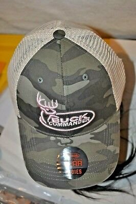 9a477cd3c14 WOMENS Buck Commander CAMO PINK HAT EMBROIDERED Snap-Back New With Tags  Hunting