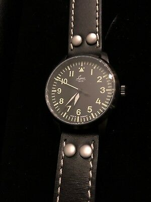 """Laco Augsburg Type-A Dial Automatic Pilot Watch with Sapphire Crystal """"London"""""""