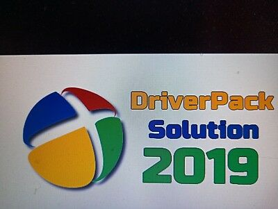 Latest 2019 DRIVER PACK SOLUTION+Antivirus 4 PC Laptops Windows Bluray Disc 20GB