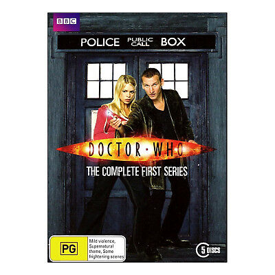 Doctor Who Series 1 Complete DVD 5 Disc Set  Christopher Eccleston, Billie Piper