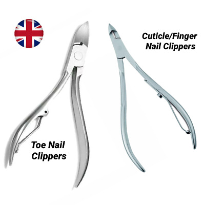 Thick Toe Nail Clippers Cutters Scissors Podiatry Tool Ingrown Nails Heavy Duty
